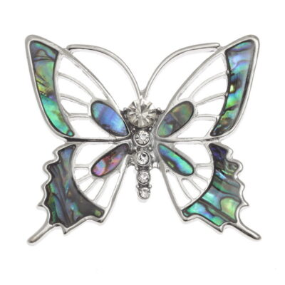 Tj256 Butterfly Brooch