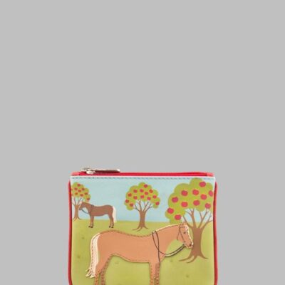Y1723 23 Leather HORSE Purse A 600x