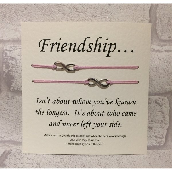 Friendship Wish Bracelet Sentiment