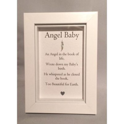 Angel Baby Frame