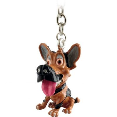 3701 Little Paws German Shepherd Key Ring E1484917381927