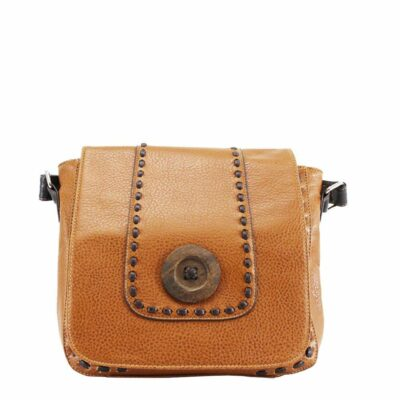Button Flap Brown