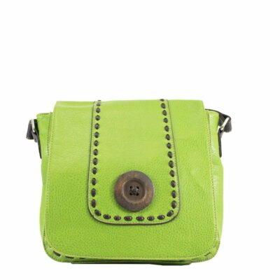 Button Flap Green