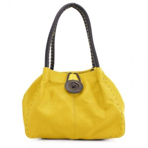 Button Yellow Bag
