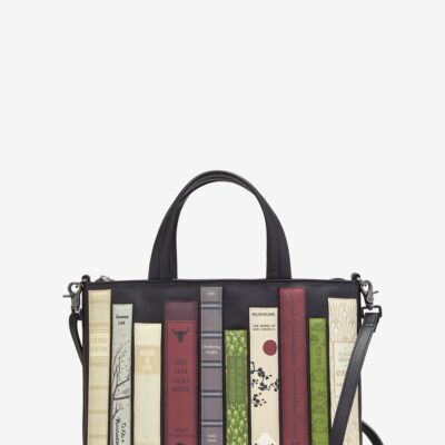 Bookworm Black Leather Multiway Grab Bag A
