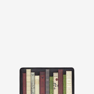 Bookworm Black Leather Oxford Purse A