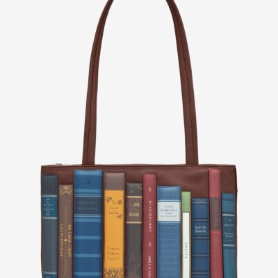 Bookworm Brown Leather Shoulder Bag A