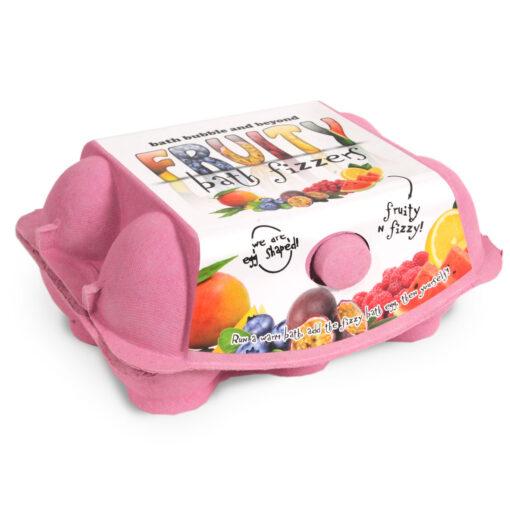 Pink Egg Box Closed