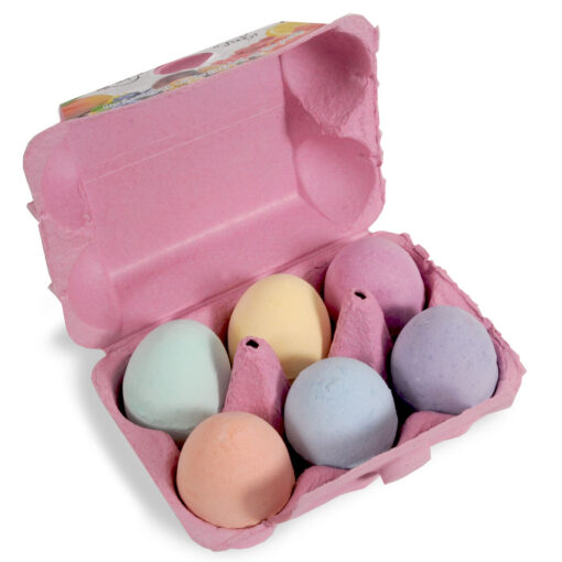 Pink Egg Box Open