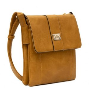 Crossbody Bag in Tan By Bessie London