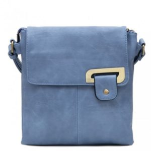 Crossbody Bag in Blue By Bessie London