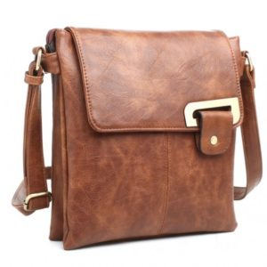 Crossbody Bag in Brown By Bessie London