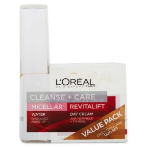 Loreal 2 Pack – Micellar Water & Revitalift Anti-Wrinkle & Extra Firming Cream
