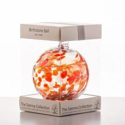 10cm Birthstone Ball Julyruby 480x