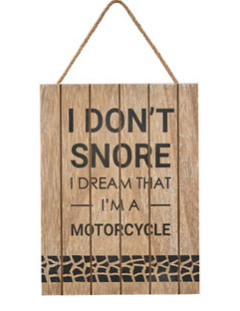 Snore Sign