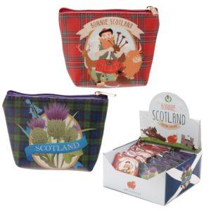 Bonnie Scotland Piper Coin Purse