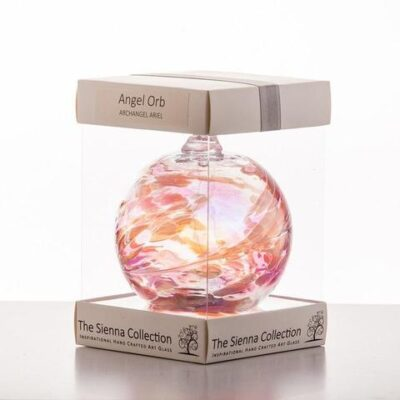 10cm Angel Orb Ariel Rose Quartz 480x