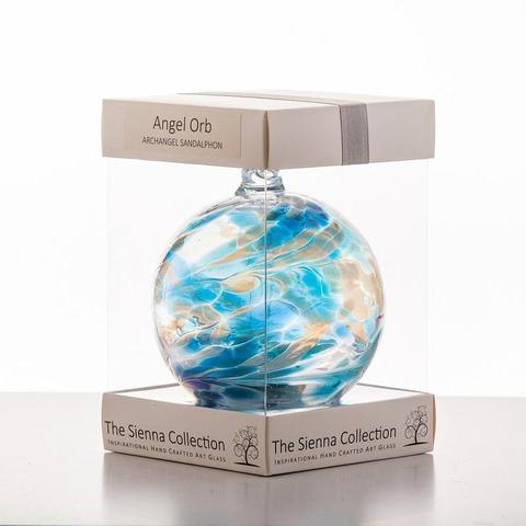 10cm Angel Orb Sandalphon Turquoise 480x