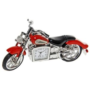 Red Classic Motorbike Clock – Fathers Day Gift