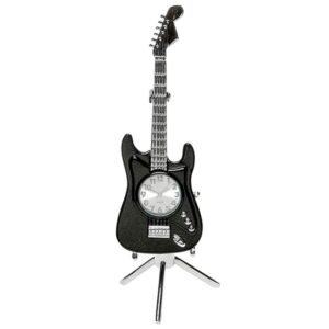 Black Fender Guitar Clock – Fathers Day Gift