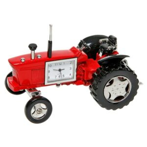 Red Old Tractor Clock – Fathers Day Gift