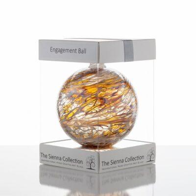10cm Friendship Ball Engagement Pastel Gold 1024x1024