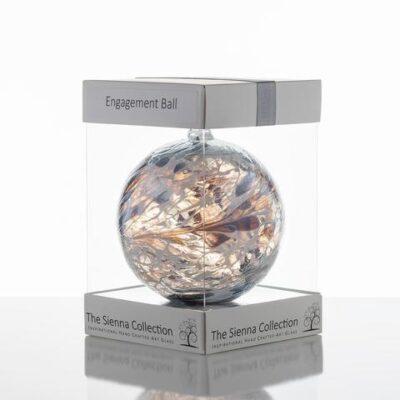 10cm Friendship Ball Engagement Pastel Silver 480x