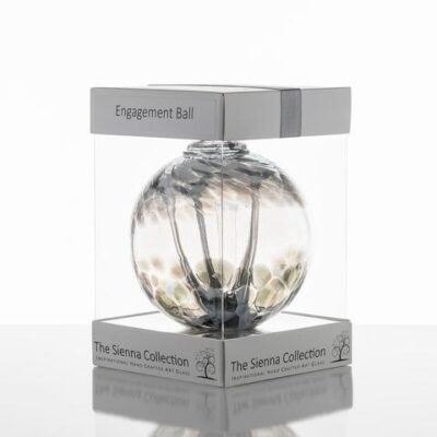 10cm Spirit Ball Engagement Pastel Silver 480x
