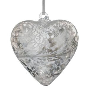 12cm Friendship Heart Pastel Silver 480x