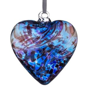 12cm Friendship Heart Purple Blue 480x