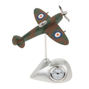 Techno Camouflage Spitfire Clock – Fathers Day Gift