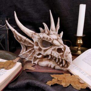 Luminescent Light Up Dragon Skull