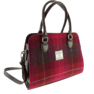 Harris Tweed Red Tote Bag – Findhorn