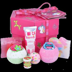 Stick With Me Hexagonal Bath Bomb Gift Box