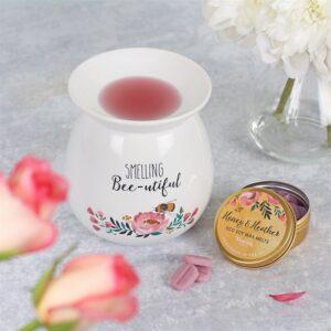 Smelling Bee-utiful Wax Melt Burner Gift Set