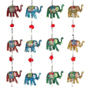 Hanging Elephant Decoration With Bell