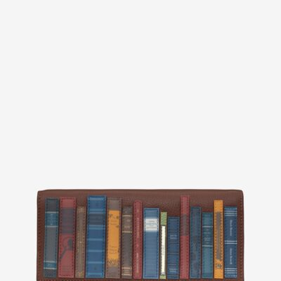 Bookworm Brown Leather Hudson Purse A