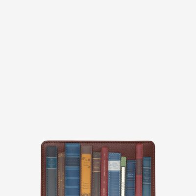 Bookworm Brown Leather Oxford Purse A